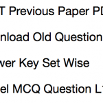 REET Previous Paper Download Solved PDF Old Question Set RTET