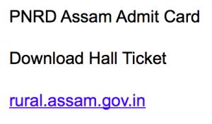 pnrd assam admit card 2017 2018 hall ticket download rural assam.gov.in