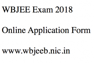 wbjee exam 2018 application form apply online west bengal joint entrance examination engineering