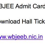 WBJEE Admit Card 2018 Download Link WB Joint Entrance wbjeeb.nic.in