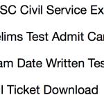 OPSC Civil Service Admit Card 2017 Download Prelims OCS Exam