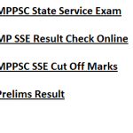 MP State Service Cut Off Marks 2017-18 Result Prelims Exam MPPSC
