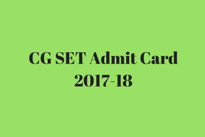 cg vyapam set admit card 2018 download chhattisgarh state eligibility test call letter cgvyapam.choice.gov.in