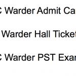 OSSSC Warder Admit Card 2018 Exam Date Physical PET PST Written Test