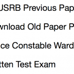 TNUSRB Previous Question Paper Download Solved PDF Police Constable