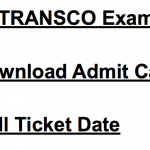 TSTRANSCO Admit Card 2018 JLM Hall Ticket Exam Date
