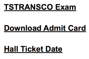 tstransco admit card download 2018 junior lineman jlm electrical hall ticket publishing date telangana
