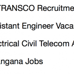 tstransco assistant engineer recruitment 2018 vacancy application form telangana ae electrical civil telecom vacancy b tech jobs engineer