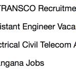 tstransco assistant engineer recruitment 2018 vacancy application form telangana ae electrical civil telecom vacancy b tech jobs engineer