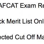AFCAT Result 2018 Cut Off Marks careerairforce.nic.in IAF AFCAT Exam