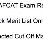 AFCAT Result 2018 Cut Off Marks careerairforce.nic.in IAF AFCAT Exam