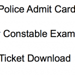 WB Police Constable Admit Card 2018 Exam Date Lady Constable WBP