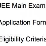 jee main exam 2018 application form exam dates form correction eligibility criteria exam syllabus age limit joint entrance engineering