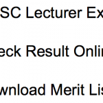 OPSC Lecturer Result 2018 Cut Off Marks Merit List Odisha PSC