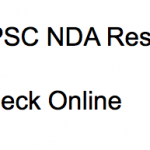 UPSC NDA Result 2018 Cut Off Marks Check Online
