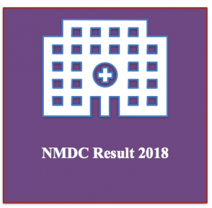nmdc maintenance assistant result 2018 check online nmdc result recruitment test written exam cut off marks mechanical