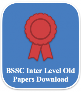 bssc inter level previous question paper download bssc intermediate level previous papers old paper download solved set bihar