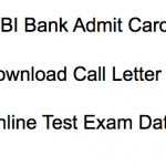 IDBI Executive Admit Card 2018 Download IDBI Bank Executives Post Call Letter