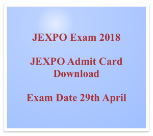 jexpo admit card 2018 download hall ticket entrance exam admit card wbscte webscte.org