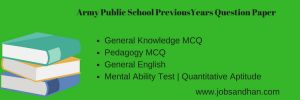 army public school previous years question paper download aps previous solved old papers pdf