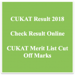 CUKAT Result 2018 Cut Off Marks BA LLB Admission Test Result CUKAT