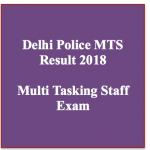 delhi police multi tasking staff result 2018