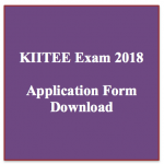 kiitee exam 2018 application form notification download online application
