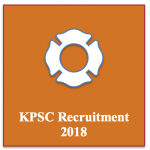 kpsc group a b recruitment 2018 - vacancy for karnataka psc public service commission application form technical and non technical kpsc.kar.nic.in