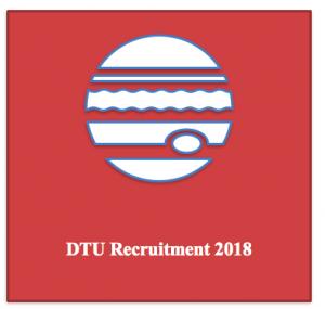 dtu recruitment 2018 delhi technological university vacancy for assistant professor posts subject wise various jobs application form online post govt jobs