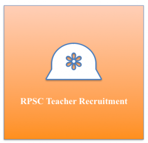 rpsc 1200 headmaster recruitment 2018 vacancy jobs application form online apply link rajasthan public service commission