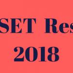 TS SET Result 2018 ||TS SET Merit List Cut Off Marks