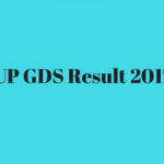UP GDS Result 2017 Gramin Dak Sevak Merit List Download Date Postal