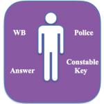 WB Police Constable Answer Key 2018 Written Exam Model Solution Prelims