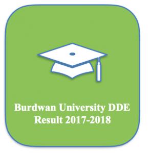 burdwan university dde result 2017 2018 dde.buruniv.ac.in distance education scorecard merit list expected publishing date part 1 part 2 I II ma m.a msc mcom b.ed mathematics semester 3 4 computer science mba