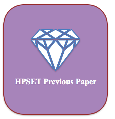 HP SET Previous Years Question Paper Download PDF Solved MCQ