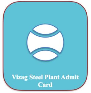 vizag steel plant junior trainee admit card 2018 download vsp jt exam date download rinl visakhapatnam hall ticket vizag steel plant ht admit card