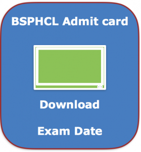 bsphcl assistant admit card 2018 download hall ticket exam date cbt online test computer based test sahayak post