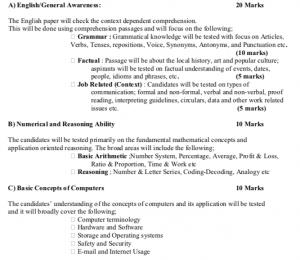 jkssb junior assistant syllabus 2019 download written exam pattern pdf