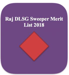 rajasthan local self govt rajdlsg sweeper result 2018 merit list download shortlist expected cut off marks safai karmachari