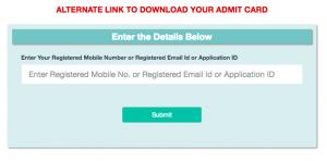 forgot password alternative download link