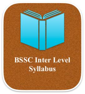 bssc inter level syllabus 2018 download exam pattern bihar intermediate level 10+2 in hindi english language