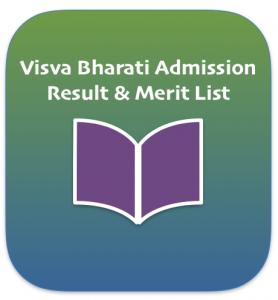 visva bharati merit list 2019 entrance test admission merit list exam result 2019 shortilst merit list online check vbu quaifying marks visva bharati admission test result 2019-2020