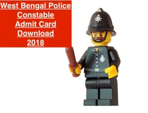 wb police constable admit card releasing date