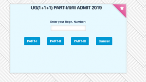 nbuexams.net nbu admit card 2019 download part 1 2 3 semester year wise 1 2 3
