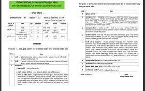MPSC PSI Main Exam Syllabus 2020 Download PDF