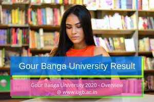 gour banga university result 2020 exam merit list marksheet publishing date gbu ugb.ac.in Gour Banga University Result 2020 Part 3 Out! ugbexam.net BA BSc BCom