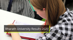 Bharath University Results 2019-2020 BA B.sc 1st 2nd 3rd 4th 5th 6th Sem Result www.bharathuniv.ac.in  Bharath University Results 2020