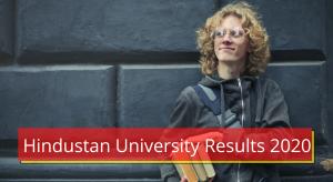 Hindustan University Results 2020 Semester Exam hindustanuniv.ac.in Result Hindustan University Exam Result 2020 Semester 1st 2nd 3rd 4th 5th 6th Sem Exam