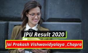 Jai Prakash Vishwavidyalaya Result online