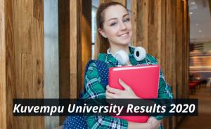 Kuvempu University Results 2020 BA BSc Semester kuvempu.ac.in Kuvempu University Examination Results 2019-2020